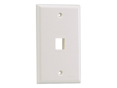 Panduit NetKey Flush Mount Screw-On Faceplates - faceplate