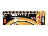Duracell Plus Power MN1500 - Batterie 24 x AA-Typ