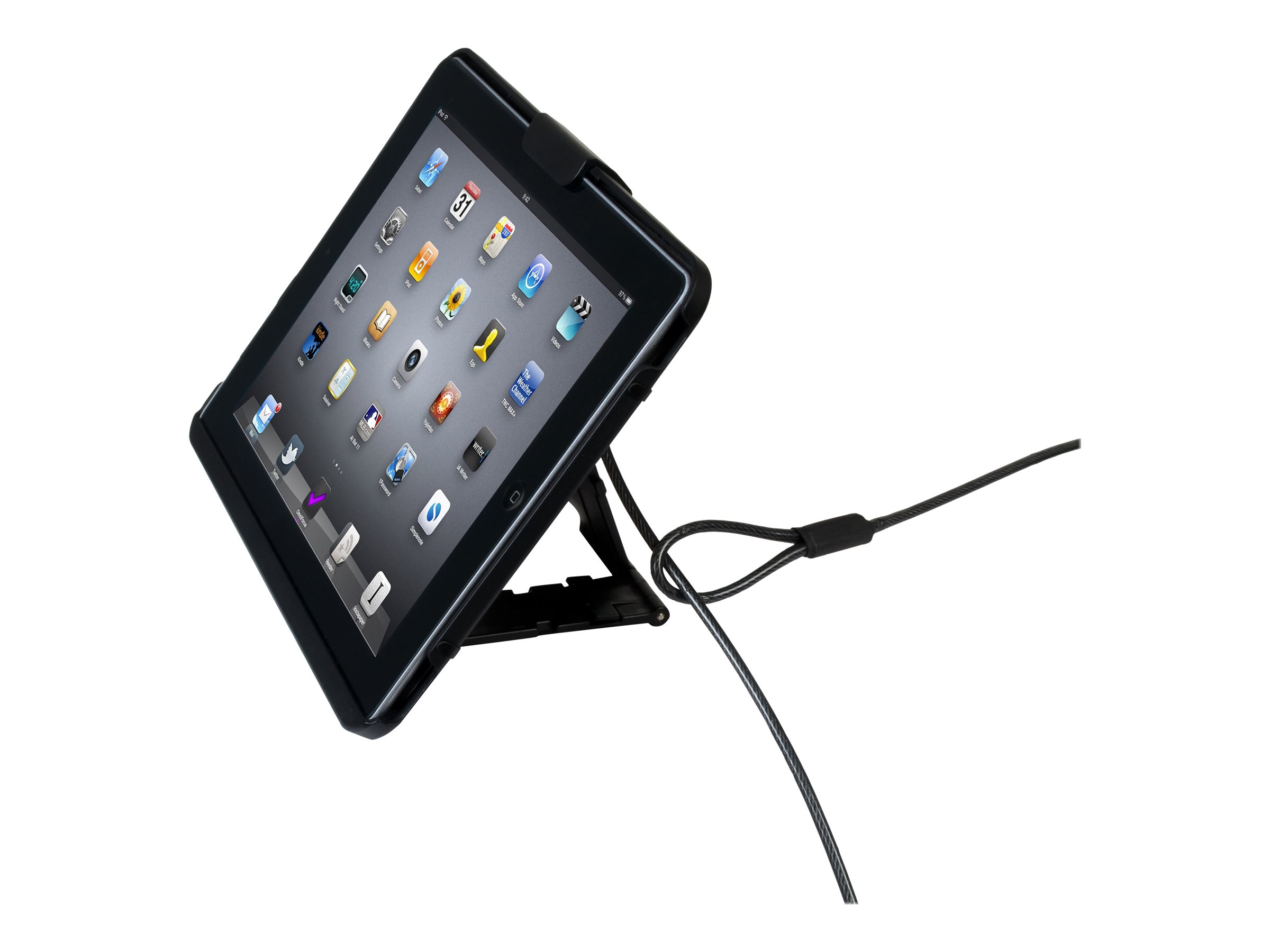 CTA Digital Anti-Theft Case with Built-In Stand - case for tablet