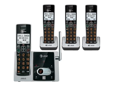AT&T CL82413 Cordless phone answering system with caller ID/call waiting DECT 6.0