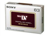Sony DVM-63HDV - Mini DV