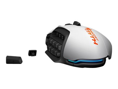 ROCCAT Nyth Mouse laser 18 buttons wired USB white