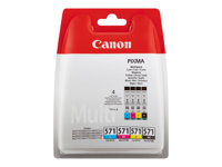 Canon CLI 571 /BK Value Pack Sort Gul Cyan Magenta 349 sider