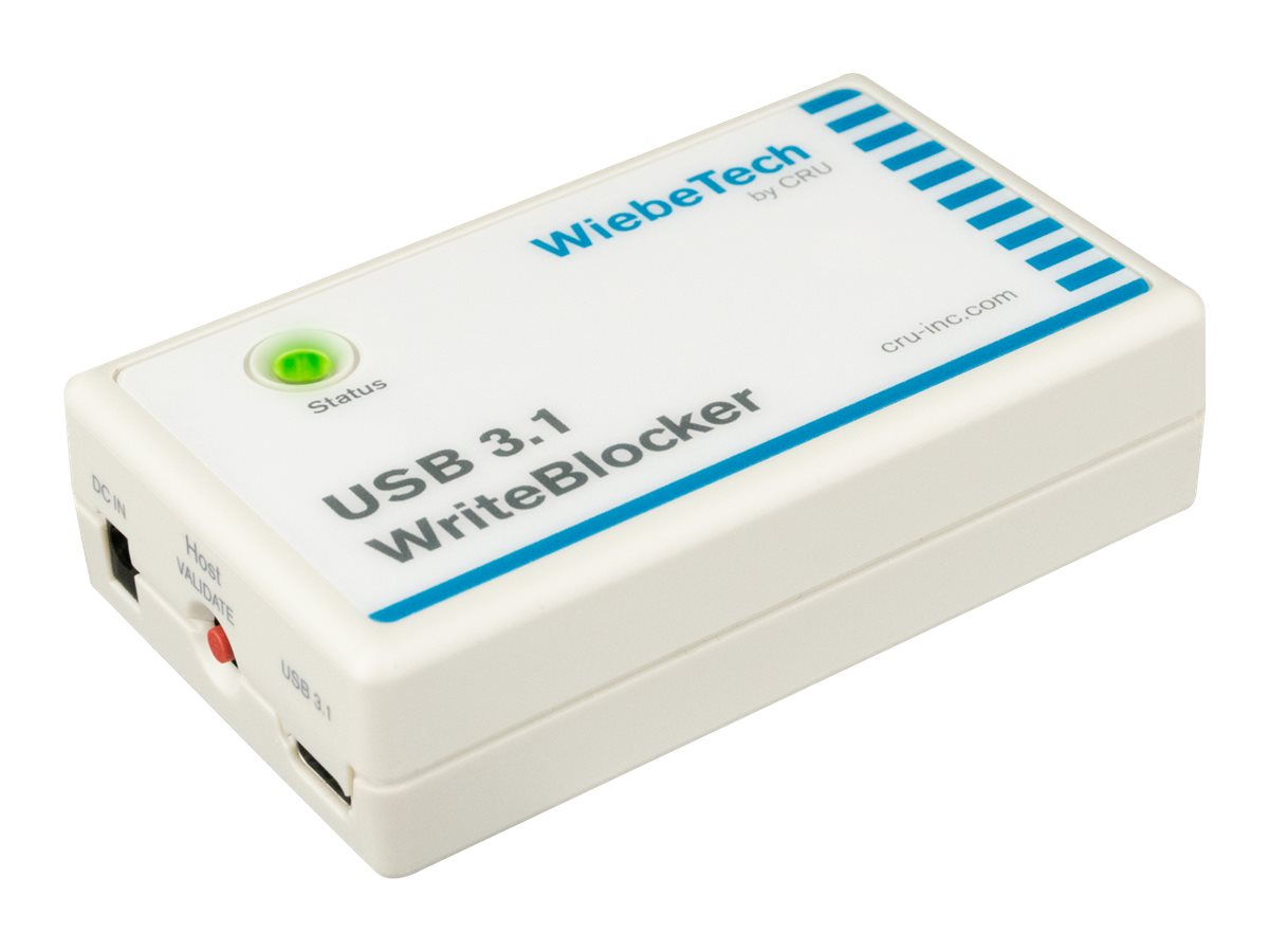 Wiebetech USB 3.1 WriteBlocker USB drive write blocker