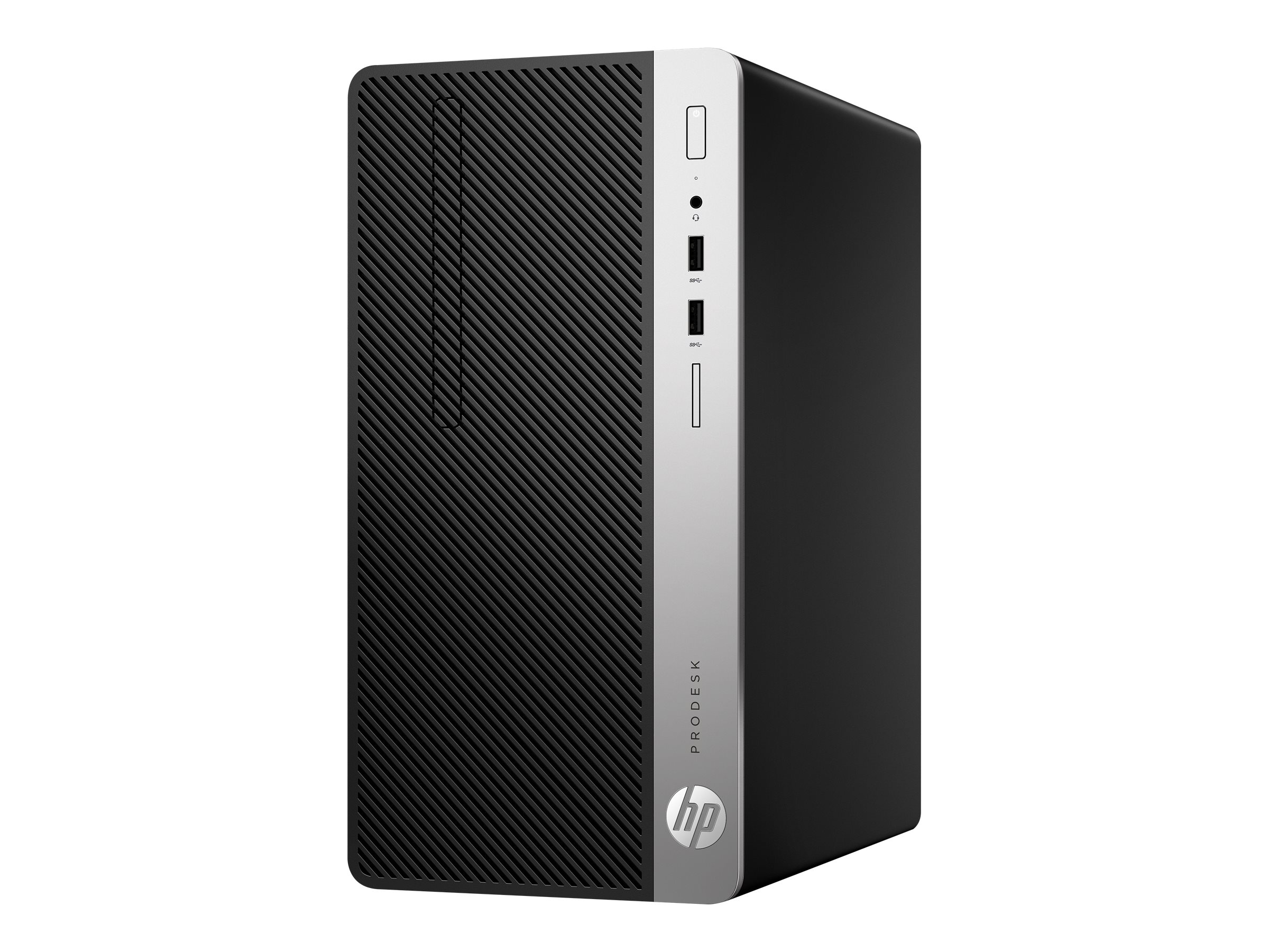 HP ProDesk 400 G4 - Micro Tower - 1 x Core i7 7700 / 3.6 GHz - RAM 8 GB - SSD 256 GB - DVD-Writer