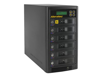 Aleratec 1:5 HDD Copy Cruiser High-Speed Hard drive duplicator 5 bays (SATA) HDD x 0