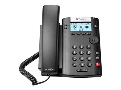 Polycom TDSourcing VVX 201 - VoIP phone - 3-way call capability