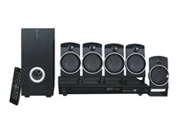 Naxa ND-859 Home theater system 5.1 channel black