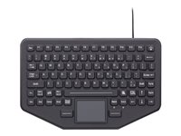 Gamber-Johnson iKey Keyboard with touchpad backlit USB