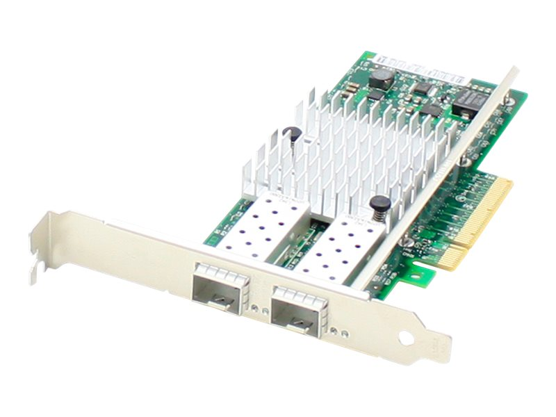 AddOn HP 614203-B21 Comparable Dual SFP+ Port PCIe NIC - network adapter