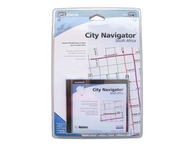 MapSource City Navigator South Africa - GPS software