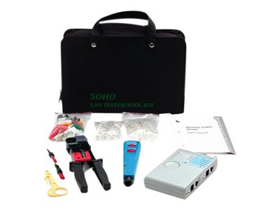 StarTech.com Professional RJ45 Network Installer Tool Kit w/ Carrying Case - network tools kit