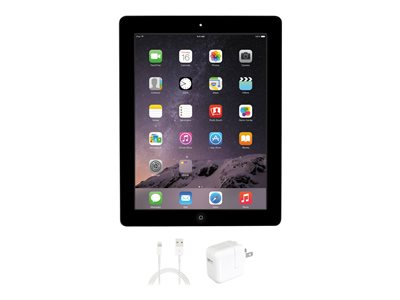 Apple iPad 4 WiFi 4th generation tablet 16 GB 9.7INCH IPS (2048 x 1536) black