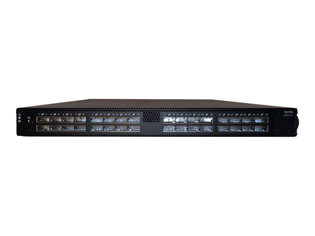 Mellanox Spectrum SN2700 - switch - 32 ports - managed - rack-mountable