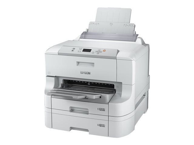 Epson WorkForce Pro WF-8090 D3TWC - Printer - colour - Duplex - ink-jet - A3 - 4800 x 1200 dpi - up to 34 ppm (mono) / up to 34 ppm (colour) - capacity: 1830 sheets - USB 2.0, Gigabit LAN, Wi-Fi(n) ** End-User Free 3 Years Extended Printer Warranty Worth £250 redeemable valid between 1st April 2017 until 31st March 2018 via www.epson.co.uk/printerwarranty​ or www.epson.ie/printerwarranty. Claims must be submitted within 30 days of purchasing the product **