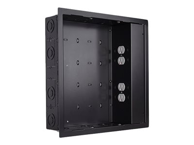 Chief In-Wall Storage Box PAC526FBP4 Storage box for audio/video components black