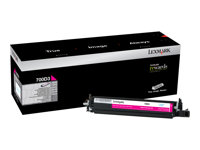 Lexmark 700D3 Magenta original developer kit LCCP