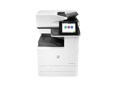 Copieur Color LaserJet Managed MFP HP E87640dn - vitesse 40ppm vue avant