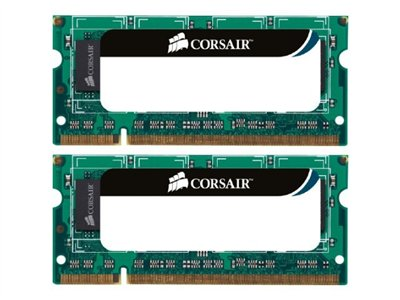 Corsair - DDR3 - 8 GB : 2 x 4 GB - SO DIMM de 204 espigas