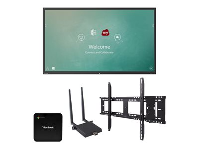 ViewSonic ViewBoard IFP9850 Chrome Bundle 1 98INCH Class (97.5INCH viewable) LED display