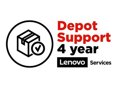 Lenovo ePac Depot Repair Extended service agreement parts and labor 1 year (4th year)  image