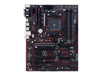 ASUS PRIME X370-A - Carte-mère - ATX - Socket AM4 - AMD X370 - USB 3.0, USB 3.1 - Gigabit LAN - carte graphique embarquée (unité centrale requise) - audio HD (8 canaux)
