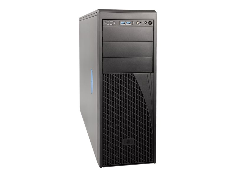 Intel Server Chassis P4304XXMFEN2 - Tower - 4U - SSI EEB 550 Watt - Cosmetic Black - USB