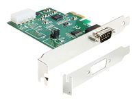 DeLOCK PCI Express Card > 1 x Serial RS-232 High Speed 921K with Voltage supply - Serieller Adapter