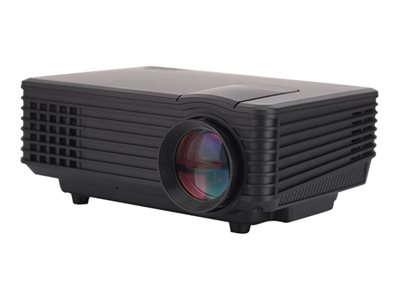 Inland HDMI Mini Projector LCD projector portable 800 lumens 800 x 480 15:9