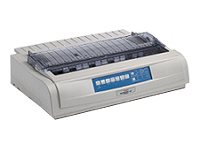 OKI Microline 491n Printer B/W dot-matrix 16 in (width) 360 dpi 24 pin