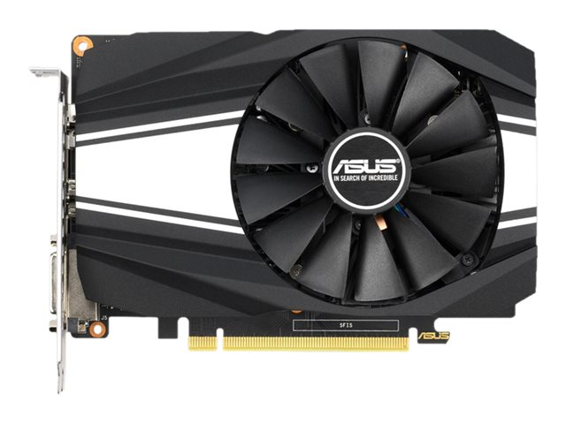 Image of ASUS PH-GTX1650S-O4G - OC Edition - graphics card - GF GTX 1650 SUPER - 4 GB