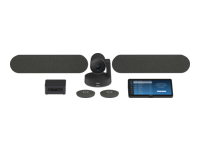 """Picture of Logitech Tap for Zoom Large Rooms - video conferencing kit - with 2 x 55"""" Sony BRAVIA Displays, Zoom"""
