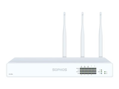 Sophos XG 125w Rev 3 security appliance with 3 years TotalProtect Plus GigE Wi-Fi