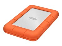 LaCie Rugged Mini - Disque dur - 4 To - externe (portable) - USB 3.0 - 5400 tours/min