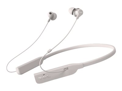 TCL ELIT200NCWT Earphones with mic in-ear neckband Bluetooth wireless