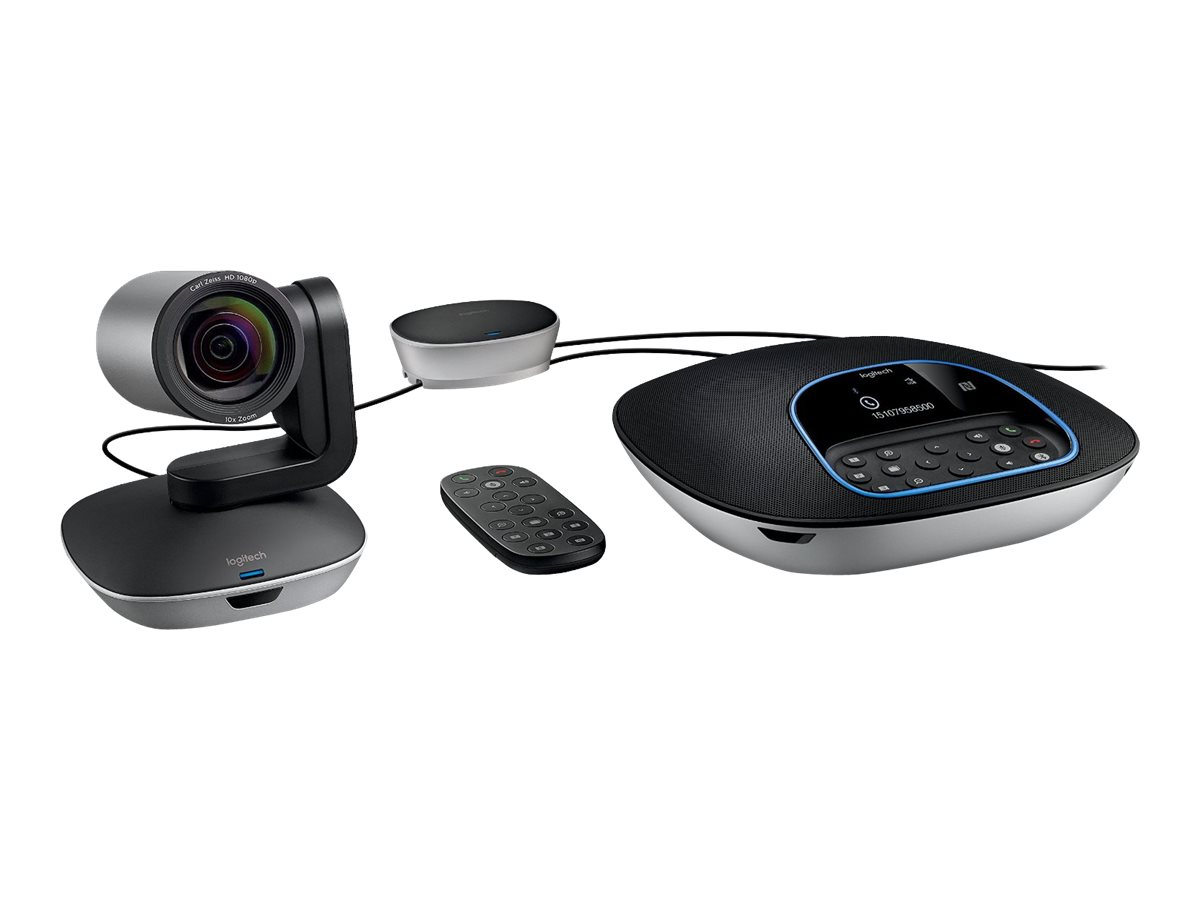 Logitech GROUP HD Video and Audio Conferencing System - Video conferencing kit