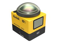 Kodak PIXPRO SP360 Action camera mountable 1080p / 30 fps 16.36 MP Wi-Fi, NFC ye