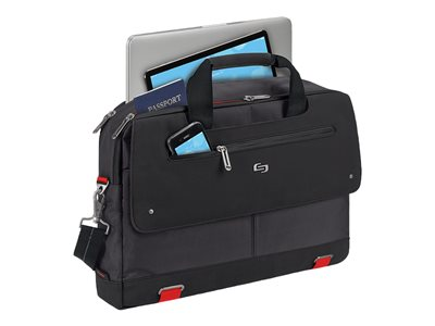 SOLO Pro Aegis Mission Briefcase Notebook carrying case 15.6INCH black