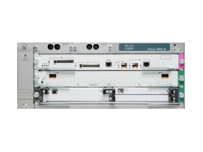 Cisco 7603-S - router - rack-mountable - with Cisco 7600 Series Route  Switch Processor 720 with 10 Gigabit Ethernet (RSP720-3C-10GE)