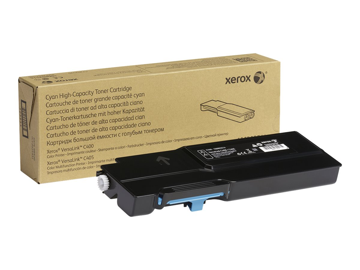 Xerox VersaLink C400 - High Capacity - cyan - original - toner cartridge