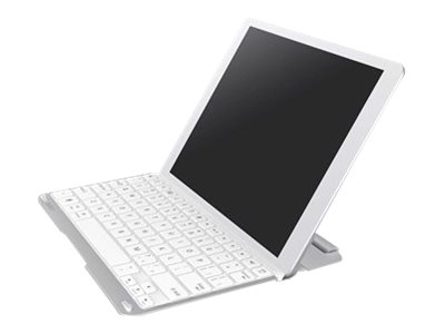 Belkin QODE Thin Type Keyboard Bluetooth white for Apple iPad Air