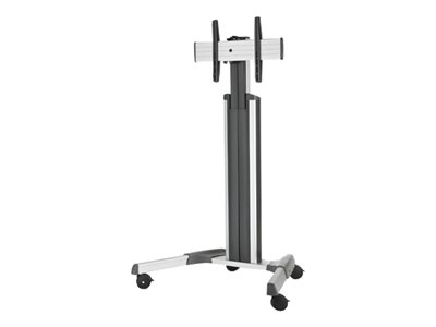 Chief Medium FUSION MPAUS Cart for LCD / plasma panel silver screen size