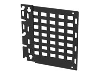 Peerless Mounting component (mounting plate) for audio/video components (low profile) black