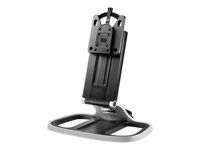 HP Integrated Work Center Stand - Monitor/desktop stand - black, meteorite - for HP t310, t310 G2, t430, t530, t540, t628; EliteDesk 800 G1; Flexible t620; ProDesk 600 G3