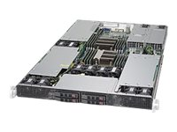 Supermicro SuperServer 1028GR-TR - rack-mountable - no CPU - 0 GB - no HDD