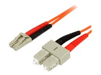 StarTech.com 1m Fiber Optic Cable - FIBLCSC1