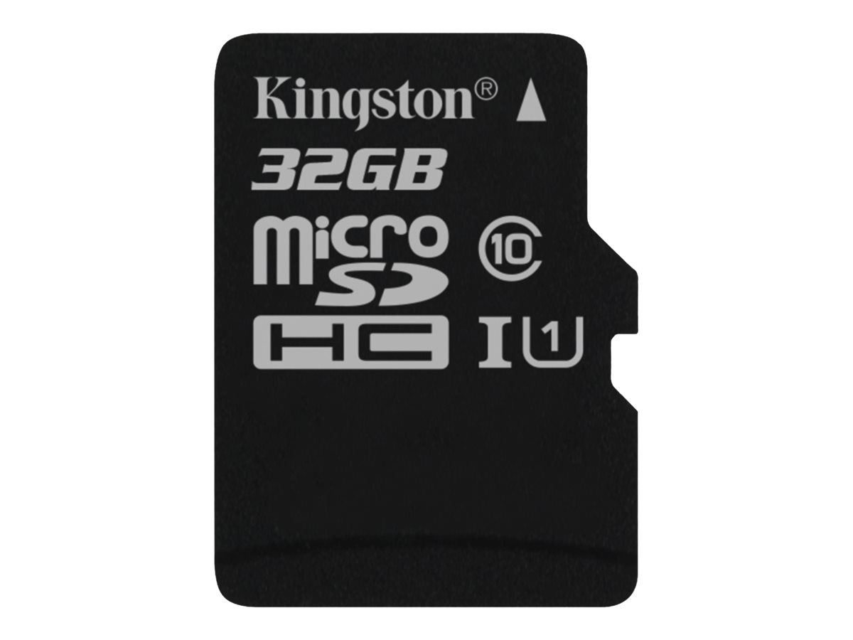 Kingston Canvas Select - Flash-Speicherkarte - 32 GB - UHS-I U1 / Class10 - microSDHC UHS-I