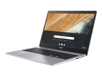 ACER Chromebook 315 CB315-3H-C1PD N4000 15.6inch HD ACER ComfyView LCD 4GB 64GB eMMC Pure Silver Chrome OS (WU)(RDKK)