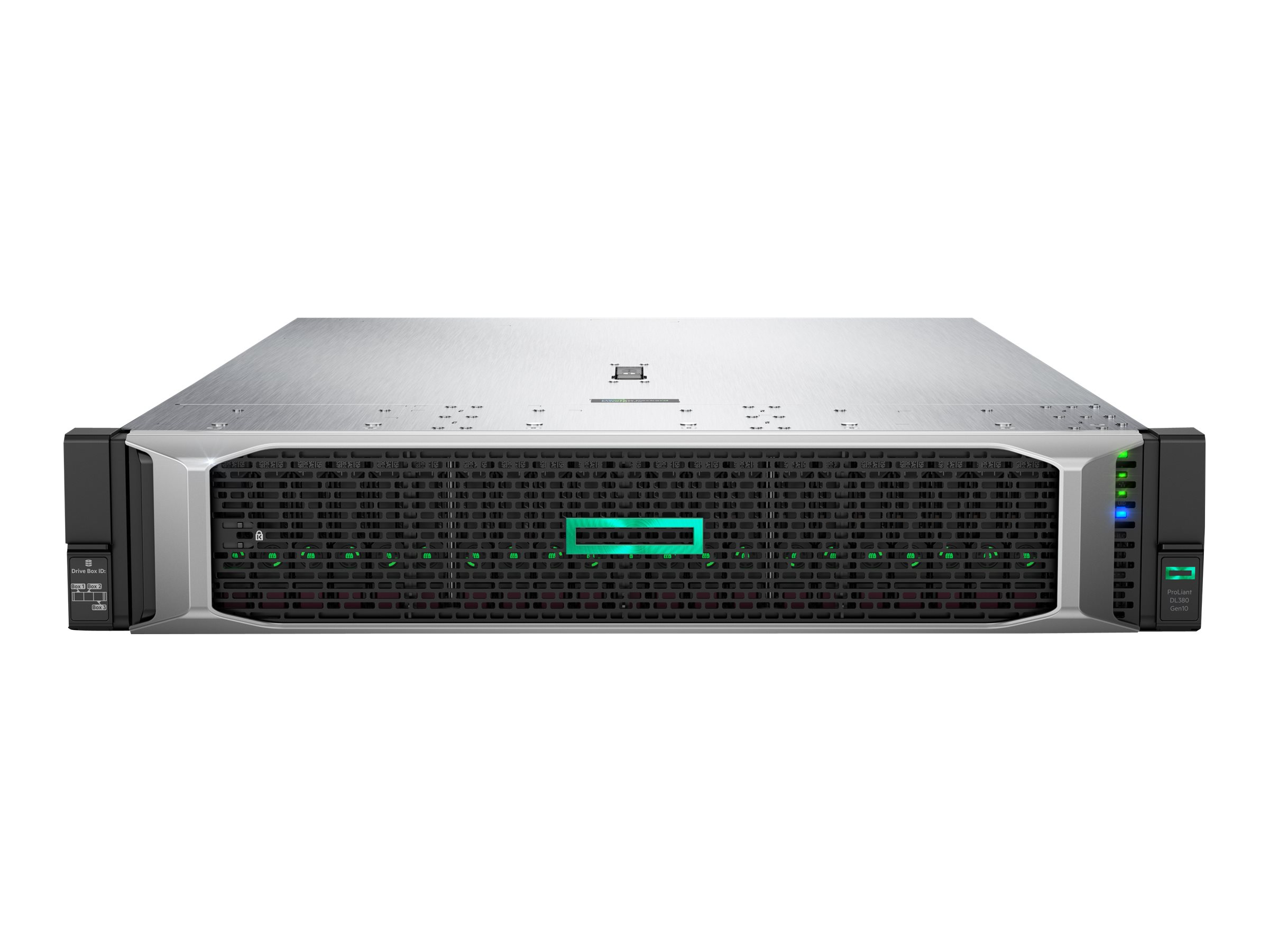 HPE ProLiant DL380 Gen10 - rack-mountable - no CPU - 0 GB - no HDD