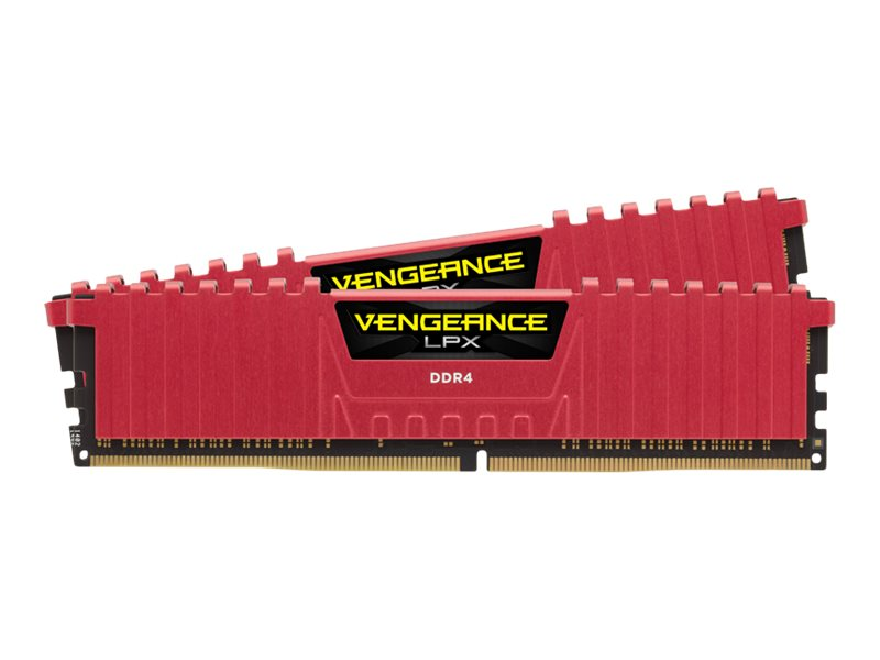 CORSAIR Vengeance LPX - DDR4 - kit - 16 GB: 2 x 8 GB - DIMM 288-pin - 2400 MHz / PC4-19200 - unbuffered